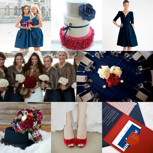 navy-blue-and-red-wedding-colors-for-winter-2013-2014   Trixi esküvő